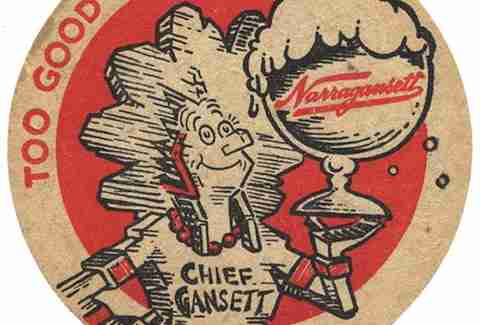 Chief Gansett TYDKA Narragansett Beer BOS