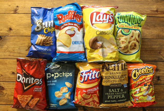 Snack Chip Value How Many Chips In A Bag Fritos