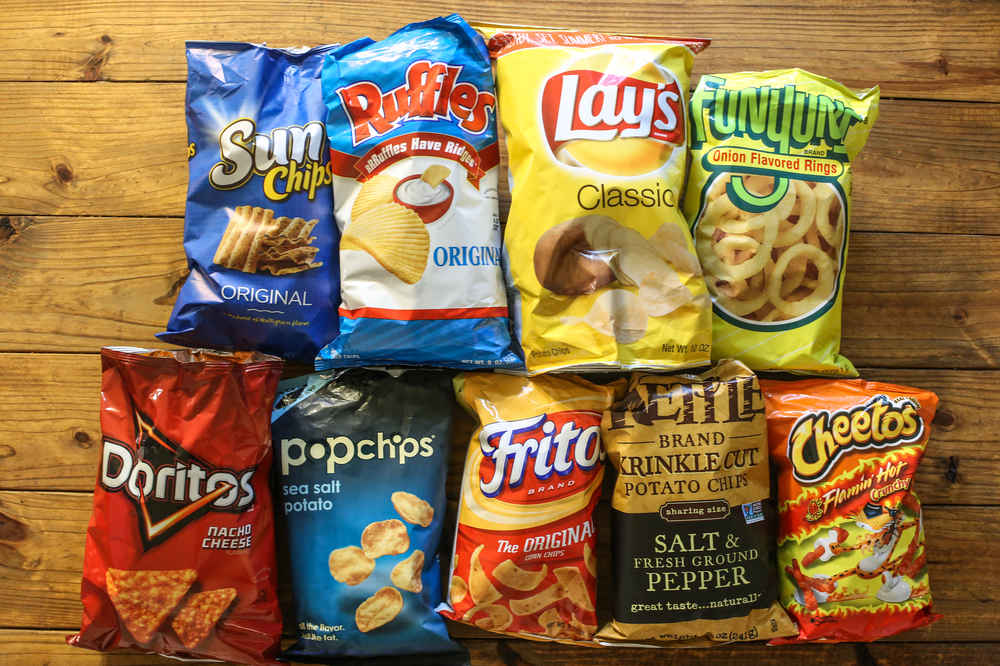 snack chip value how many chips in a bag fritos cheetos