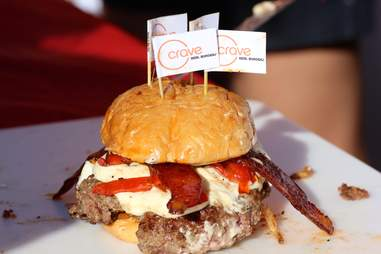 Crave Real Burger's Love Stinks
