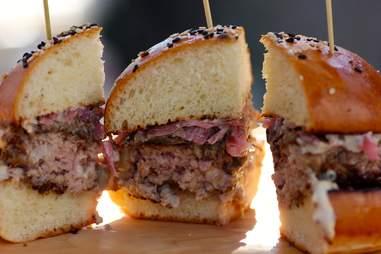 Old Major burger