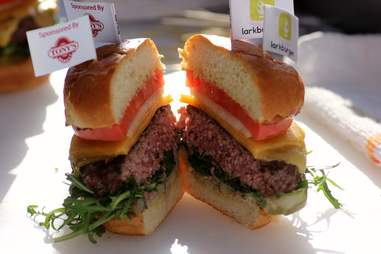Larkburger burger