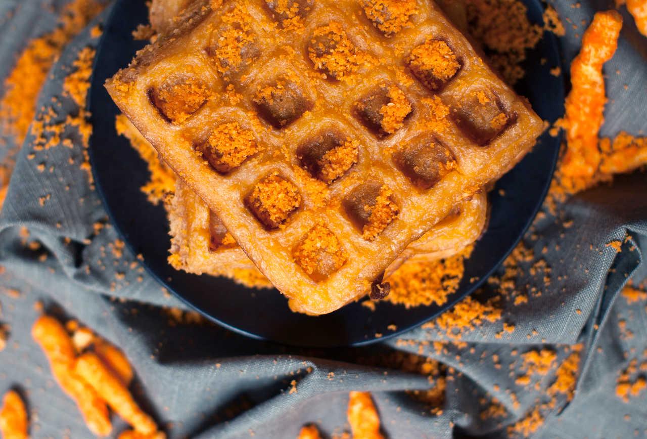 Cheetos Waffles | Hot Cheetos Recipes For A Spiced Up Summer | Homemade Recipes