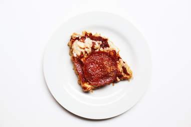 Instant ramen makes homemade pizza dangerously easy.