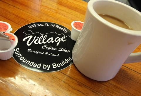 VILLAGE COFFEE SHOP BOULDER