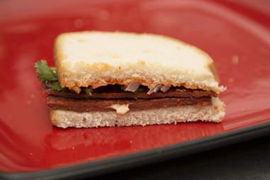 Beef Jerky Sandwich