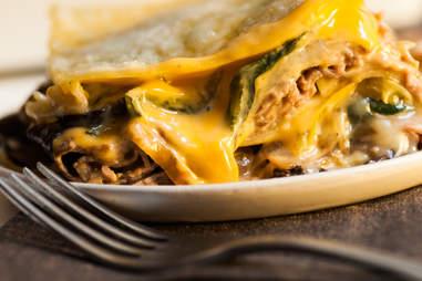 Philly Cheesesteak Lasagna