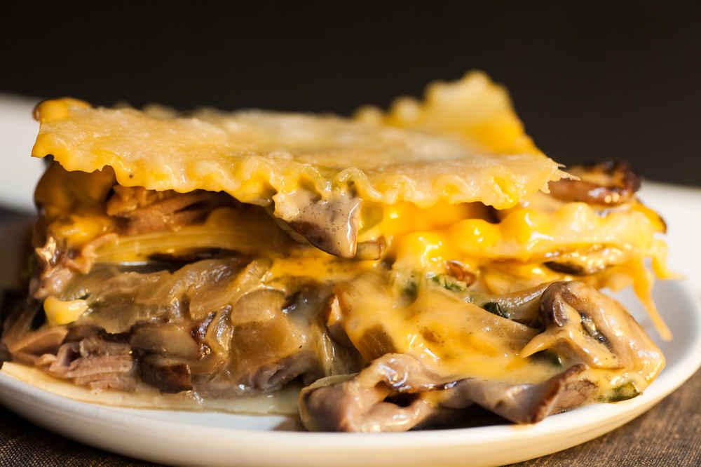 Philly Cheesesteak Lasagna Recipe