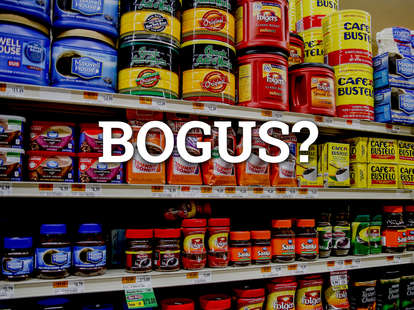 bogus coffee