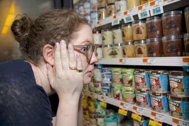 paralyzed person browsing ice cream
