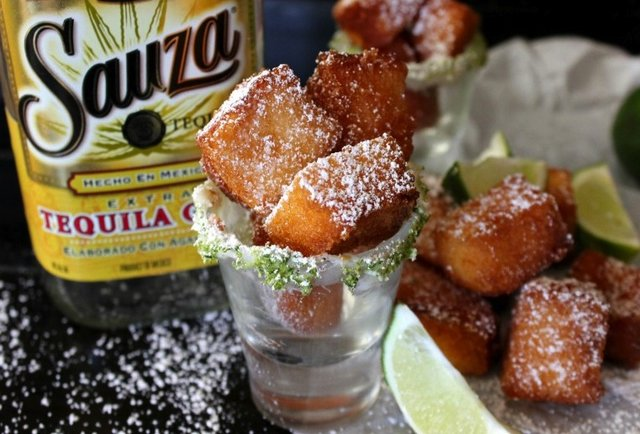 Deep-fried tequila shots are real, and they\'re spectacular