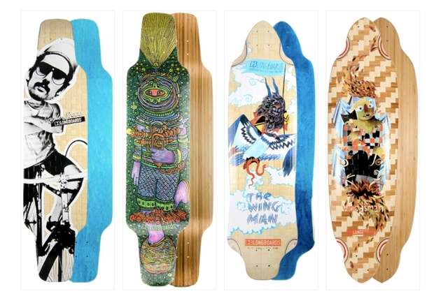The skimboard experts hit the streets