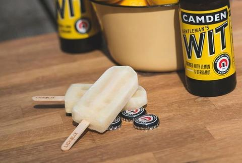 LIckalix beer popsicles