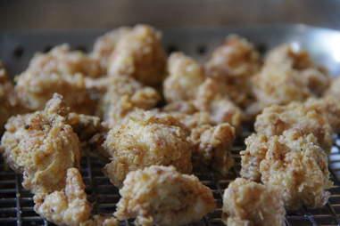 Chicken and Wafflecone