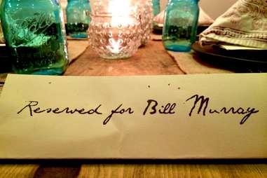 Bill Murray Bar R Supper Club DC