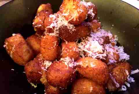 Gnocchi Tater Tots Bar R Supper Club DC