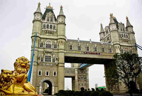 tower bridge china
