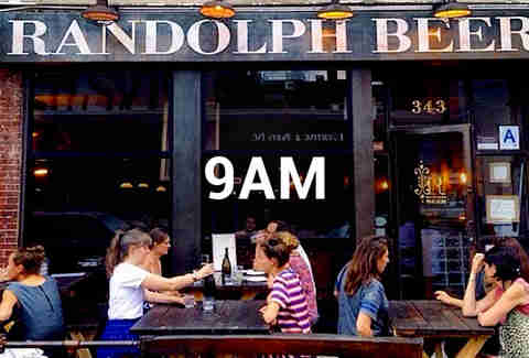 Where to Day Drink NYC