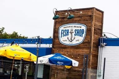 Pacific Beach Fish Shop Best Fish Tacos SD