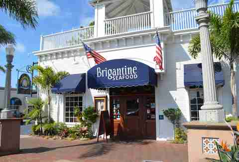 Brigantine Seafood & Oyster Bar Best Fish Tacos SD