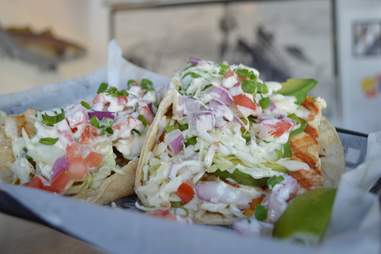 Blue Water Seafood Market & Grill Best Fish Tacos SD