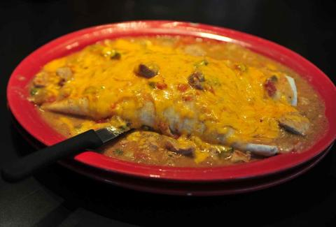 Smothered Breakfast Burrito Signature Dishes DEN