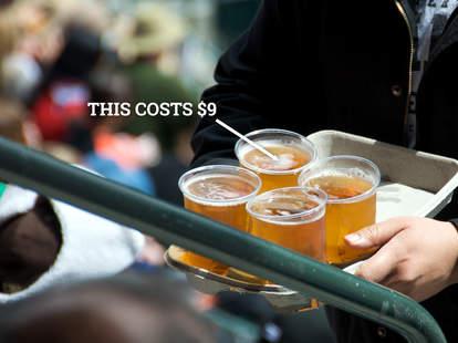 Stadium beer