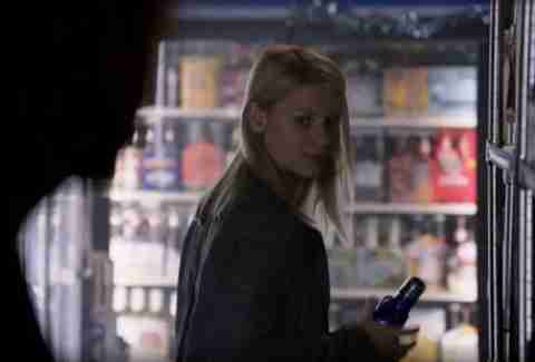 Homeland Carrie buying tequila
