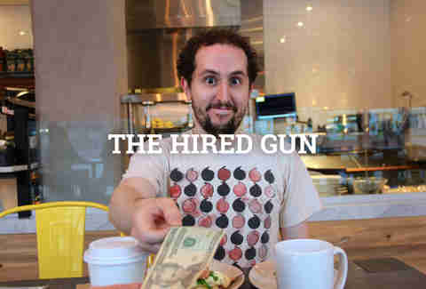 the hired gun guy