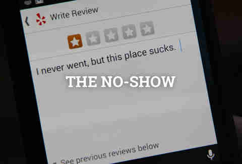 the no show yelp