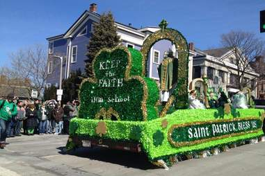 St. Paddy's Day Parade Great Drinking History Moments BOS