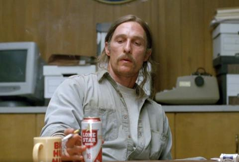 True Detective Lone Star beer