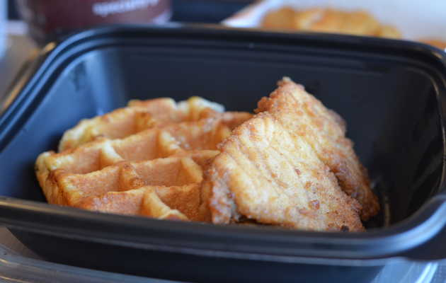 We tried Chick-fil-A's new chicken and waffles