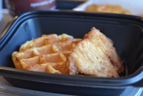 Chik-fil-A chicken and waffles