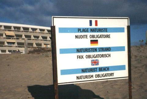 Euro swinger nudist beach