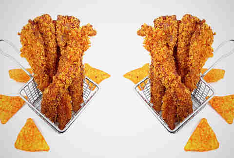 Doritos-encrusted bacon