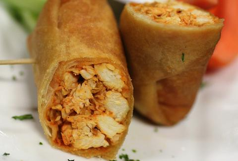 Buffalo Chicken Spring Roll at Scarlett's