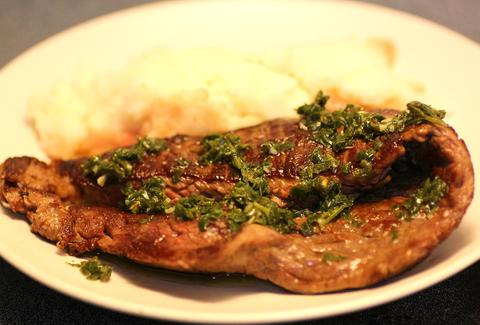 Chimichurri Skirt Steak at Wonderland