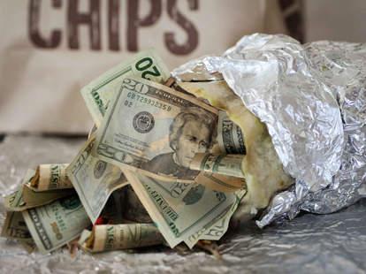 money burrito