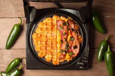 Happy Waffle Week! (It's always jalapeño day.)
