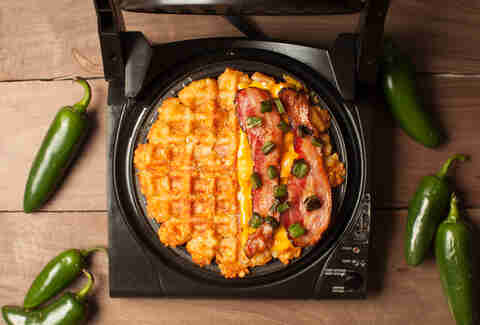 Happy Waffle Week! (It's always jalapeño day.)