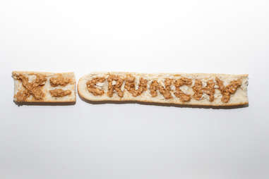 x equals crunchy