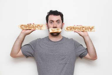 creamy versus crunchy