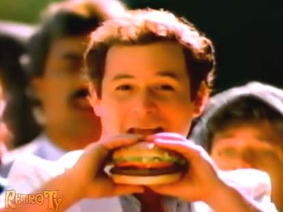 Jason Alexander McDLT commercial