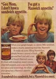 '80s Manwich print ad