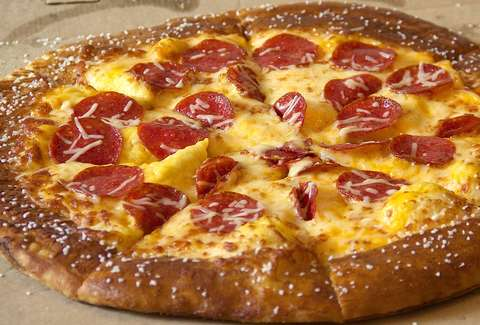 Little Caesars Pretzel Crust Pizza Taste Test