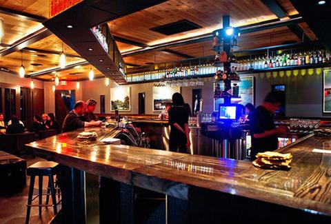 Alibi Room: A Los Angeles, CA Bar.