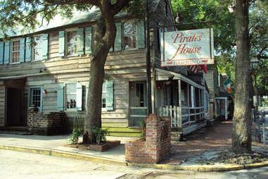 Pirate House Savannah GA