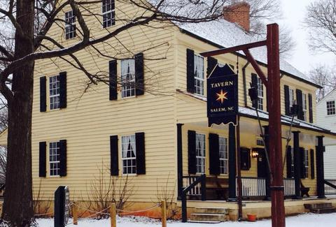 Tavern in Old Salem NC