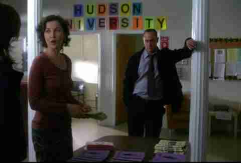 Hudson University law and order
